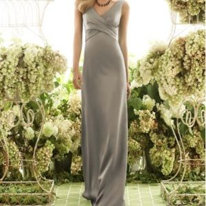 After Six Bridesmaid Dress 6550 Size 8, Mocha